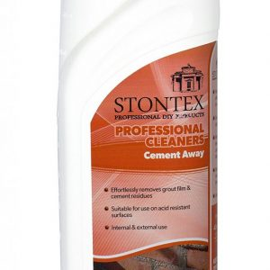 Stontex Cement Away 1Ltr & 5Ltr - Patio Stain Remover