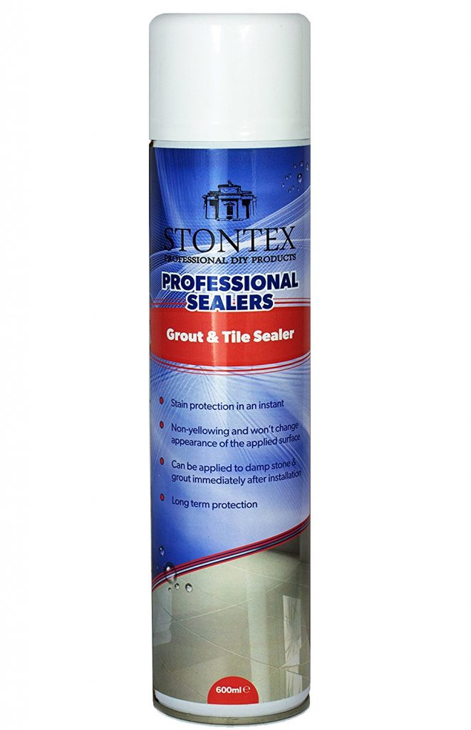 stontex aerosol spray tile grout sealer jointing mortar uk