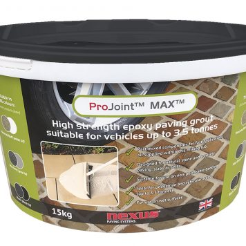 Driveway Jointing Mortar - High Strength Epoxy Resin Paving Grout - suitable for vehicle areas up 3.5 tonnes